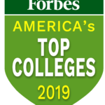 """SEVEN RHODE ISLAND and two Massachusetts schools were on Forbes' """"America's Top Colleges 2019"""" list."""