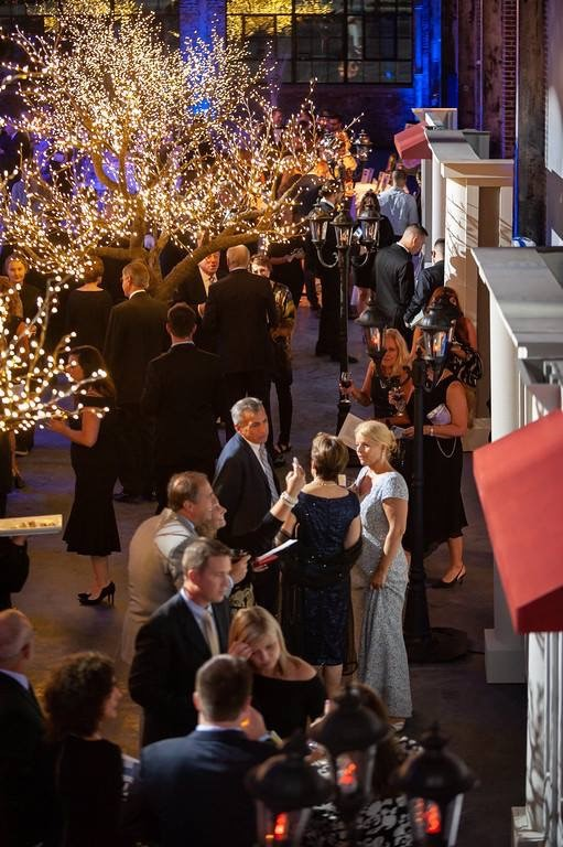 ATTENDEES MINGLE during last year's Foster Forward annual gala. This year's gala, themed