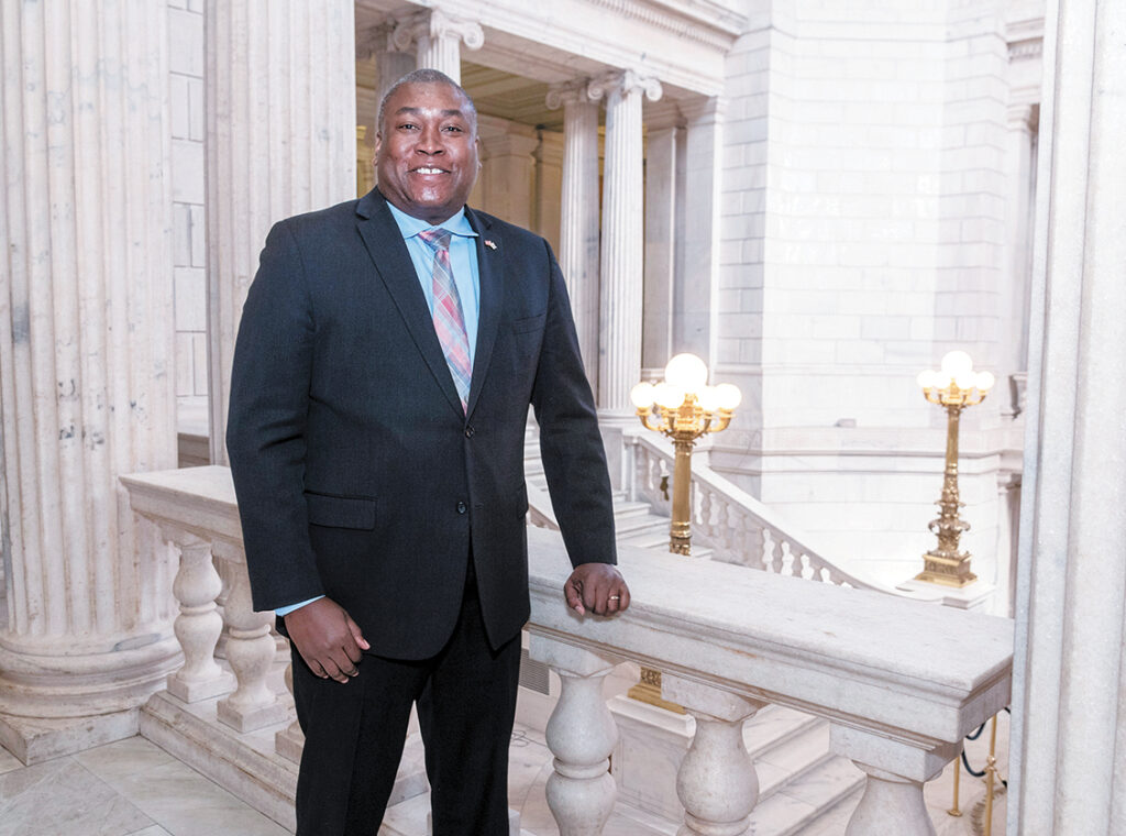 KEYNOTE SPEAKER: Kasim Yarn, the state director of veteran affairs, will be the keynote speaker at the Rhode Island Coalition for the Homeless' annual Awards Breakfast on Sept. 23 at the Crowne Plaza Providence-Warwick in Warwick. / PBN FILE PHOTO/MICHAEL SALERNO