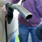 GASOLINE PRICES in Rhode Island and Massachusetts fell 3 cents per gallon since last week. / BLOOMBERG NEWS FILE PHOTO/PAUL THOMAS
