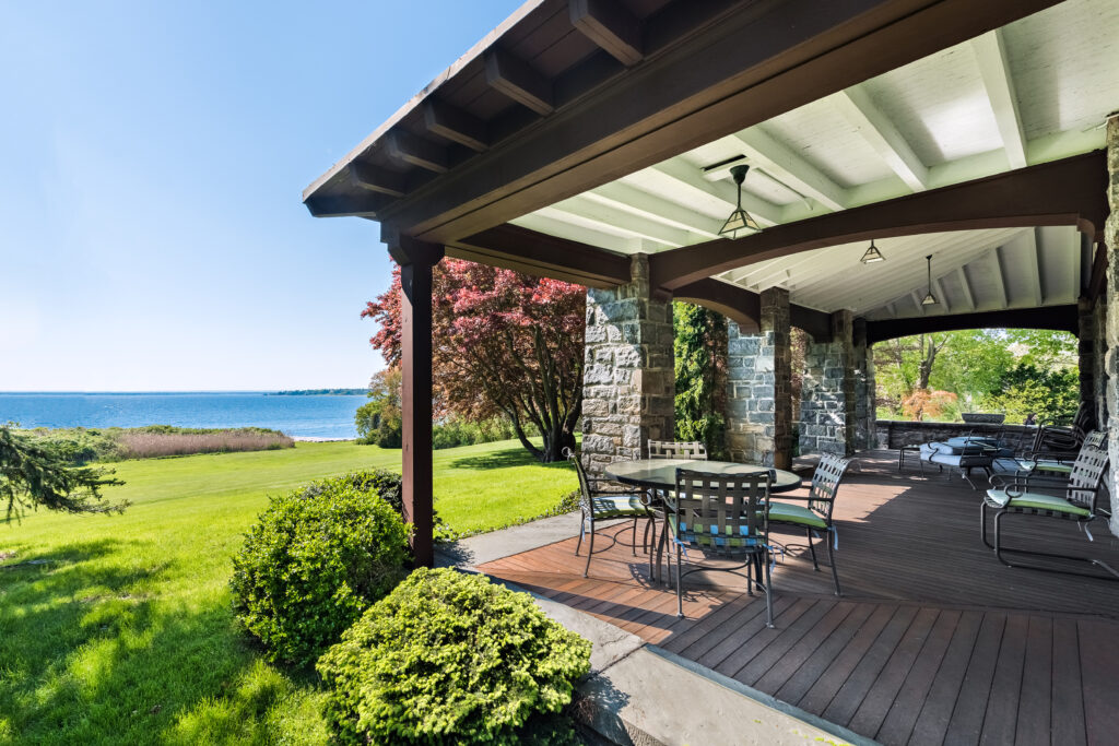 THE HOME IN BARRINGTON'S Rumstick neighborhood that sold has an clear view of the water. / COURTESY MOTT & CHACE SOTHEBY'S INTERNATIONAL REALTY