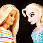HASBRO'S Frozen dolls are expected to have a large market share in the fourth quarter, coinciding with a release of Disney's Frozen 2. / BLOOMBERG NEWS PHOTO ILLUSTRATION/MARISA GERTZ