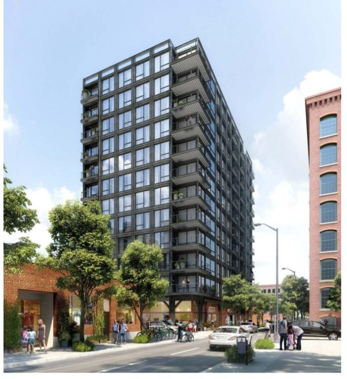 A PROPOSAL for a new apartment building at at 151 and 155 Chestnut St. in Providence should be introduced soon. / COURTESY CITY OF PROVIDENCE.