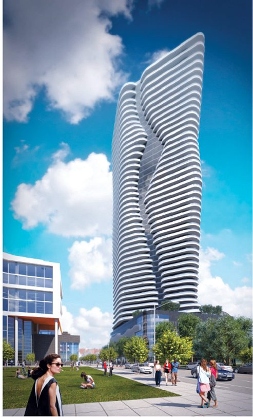 THE HOPE POINT Tower design will come before the I-195 Redevelopment District Commission on Wednesday. / COURTESY THE FANE ORGANIZATION.