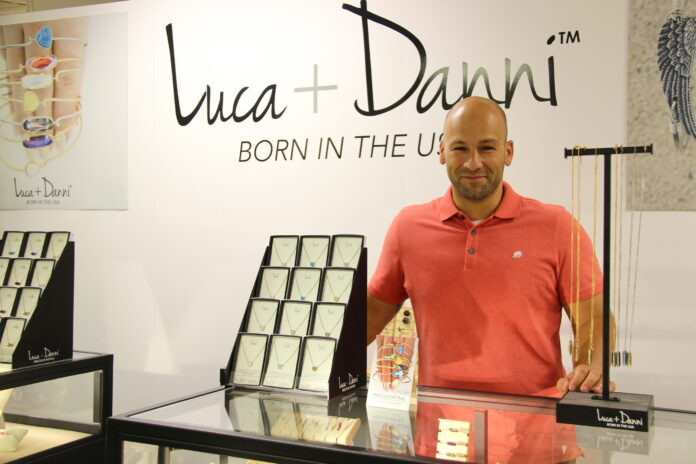 Fred Magnanimi, founder of Luca +Danni, announced $6.2 million in funding, an investment that will help the company grow going forward. / COURTESY LUCA + DANNI