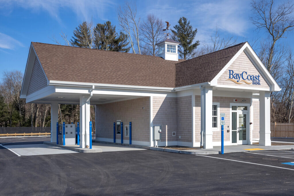 BAYCOAST BANK, one of its Rhode Island branches shown here, is one of the few banks in the area that openly court deposits from marijuana-related businesses. The Swansea, Mass.-based community bank decided to take the step nearly a year ago as more marijuana-related businesses were opening after Massachusetts began licensing recreational marijuana dispensaries, in addition to medical marijuana dispensaries previously legalized in Massachusetts and Rhode Island./COURTESY/BAYCOAST BANK