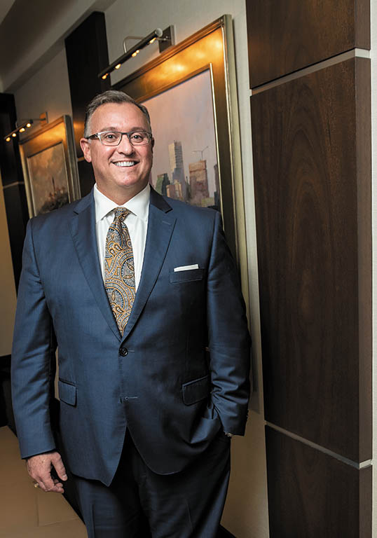 Joseph R. Perroni started as a group sales representative at Delta Dental of Rhode Island 26 years ago. The Rhode Island native worked his way up to chief sales officer and, finally, CEO and president, when Joseph A. Nagle retired in July. / PBN PHOTO/MICHAEL SALERNO