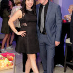 SNEAKER SOIREE: Jacklyn O'Hara of Girls on the Run Rhode Island and her husband, Colin, pose for a photo at last year's Girls on the Run Rhode Island Sneaker Soiree. This year's soiree will be held on Nov. 8 at Skyline at Waterplace in Providence. / COURTESY GIRLS ON THE RUN RHODE ISLAND