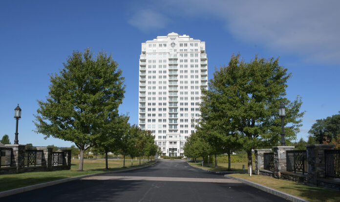 BUILDING MOMENTUM: About 20 individual owners have closed on units at the Tower at Carnegie Abbey in Portsmouth. The tower stood empty for the better part of a decade after opening as the Great Recession hit.   / PBN PHOTO/MIKE SKORSKI