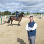 GOOD FIT: The Aquidneck Club in Portsmouth offers a host of amenities, including an equestrian center. General Manager Ron Woods says such nongolf attractions must be well-planned to succeed.  / PBN PHOTO/MIKE SKORSKI