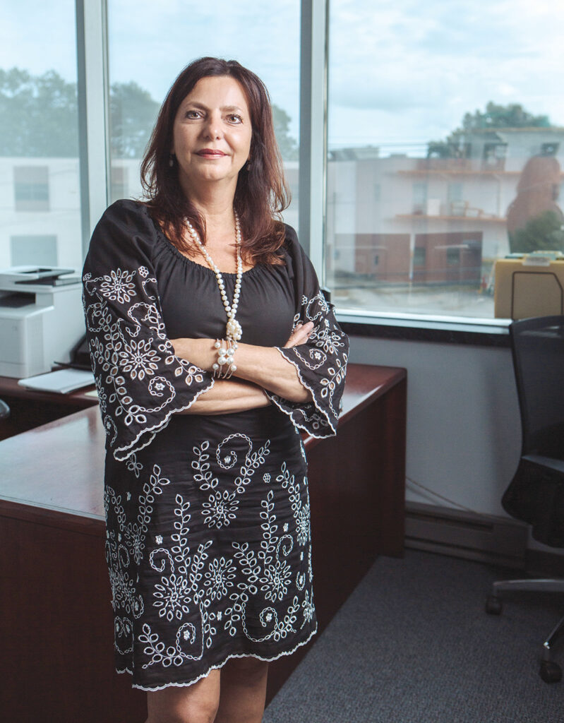 After years working as a controller in various industries, including construction and law, Lorena Voyer last year started Controlled Solutions Inc. The Warwick firm offers outsourced controller services and has grown quickly, allowing her to hire three staffers. / PBN PHOTO/RUPERT WHITELEY
