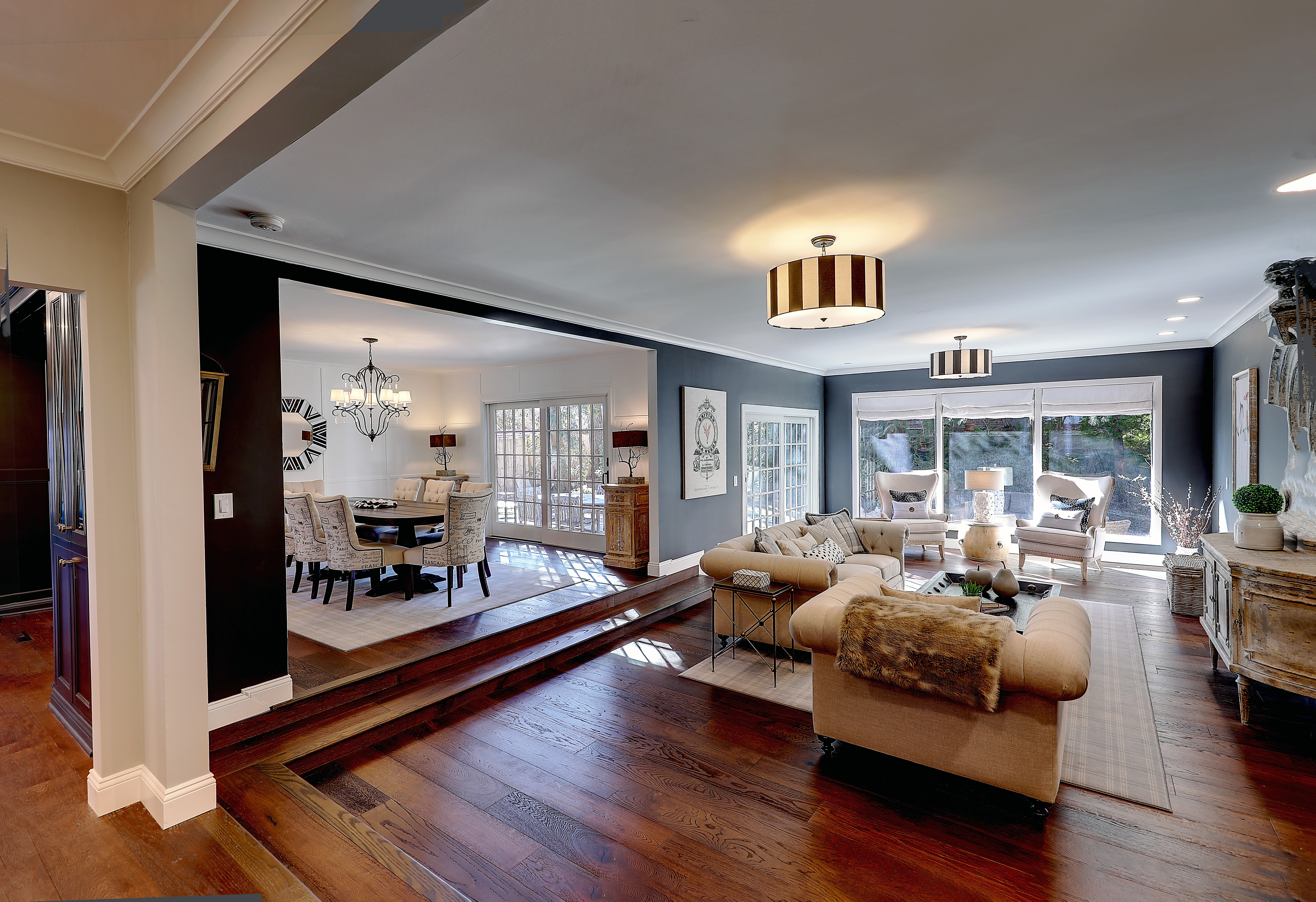 THE HOME has a front to back living room. / / COURTESY RESIDENTIAL PROPERTIES LTD.