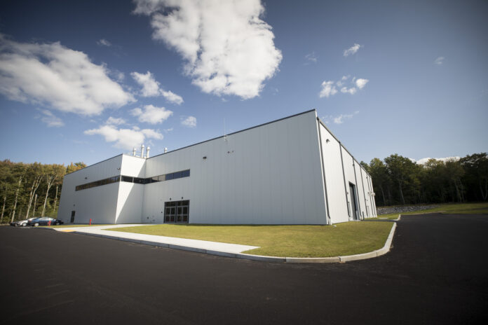 FM GLOBAL has opened its new $16 million electrical hazards and gas detection laboratory at its research campus in Glocester. / COURTESY FM GLOBAL