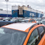 AUTO IMPORTS at the Port of DAvisville broke the previous record set in 2018 by mid October this year. / PBN FILE PHOTO/MICHAEL SALERNO
