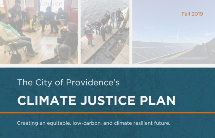 PROVIDENCE HAS RELEASED a comprehensive climate justice plan that sets goals for the city to reduce pollution and improve climate resiliency via equitable and community-engaged processes. / COURTESY CITY OF PROVIDENCE