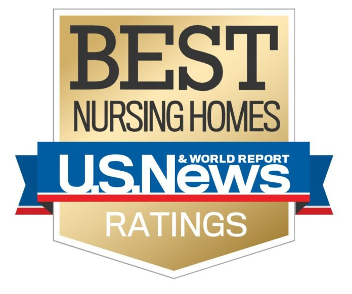 FOUR NURSING HOMES in Rhode Island were designated as having both top rated long- and short-term health care by U.S. News & World Report.