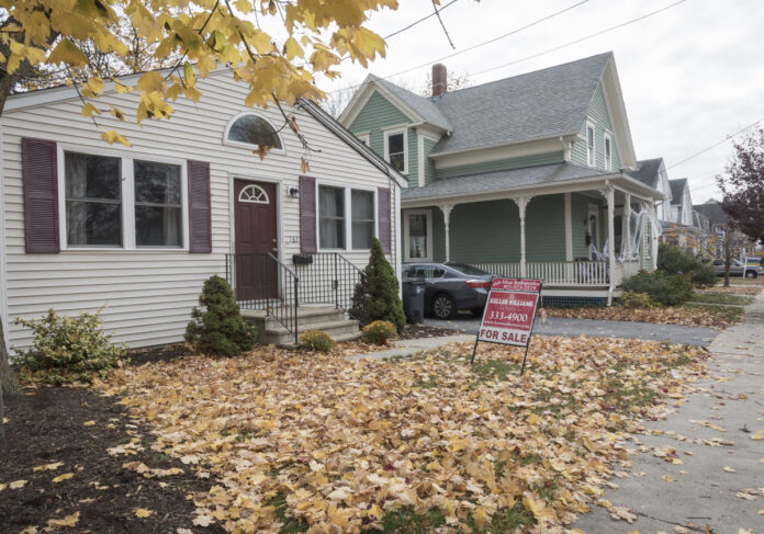A SINGLE-FAMILY home in Rhode Island sold for a median price of $295,000 in September. / PBN FILE PHOTO/MICHAEL SALERNO