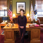 GOV. GINA M. RAIMONDO is scheduled to lead a group of Democratic governors on an economic-development and policy mission to Israel next week. / PBN FILE PHOTO/DAVE HANSEN