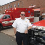 RESCUE CHIEF: Cranston Fire Department Deputy Chief Paul A. Casey, director of the city's emergency medical services, says Cranston handles billing for rescue-vehicle rides the same way as other Rhode Island communities: Insurers are billed; city residents are not. / PBN PHOTO/MIKE SKORSKI