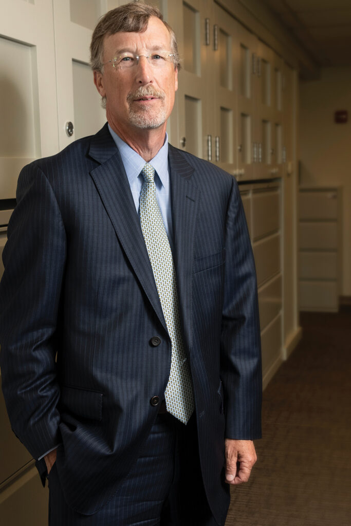 Dr. James E. Fanale has served as CEO and president of Care New England since Jan. 1, 2018, when he replaced the retiring Dennis D. Keefe. He's since focused on rebuilding CNE's finances, establishing an aggressive strategy for stabilization and growth while leading a team of more than 7,000 staff and clinicians.  / PBN PHOTO/MICHAEL SALERNO