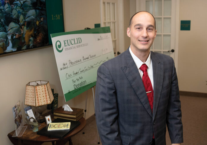 ANOTHER OPTION: Manny Rezendes, an investment adviser representative with Euclid Financial Services, says more businesses, particularly small and midsized ones, are offering the Roth 401(k) in their retirement benefits packages. / PBN PHOTO/MICHAEL SALERNO