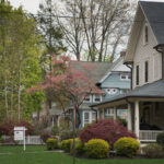 THE MEDIAN price of a Rhode Island single-family home in October was $287,225. / BLOOMBERG FILE PHOTO/RON ANTONELLI