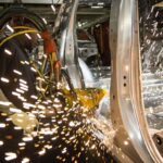 U.S. MANUFACTURING contracted for the third straight month in October, according to the Institute for Supply Management. / BLOOMBERG NEWS FILE PHOTO/MATTHEW BUSCH