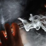 IN THE 2019 Youth Risk Behavior Survey it was found that 48.9% of Rhode Island high school students said they had vaped before. BLOOMBERG NEWS FILE PHOTO/DAN KITWOOD/GETTY IMAGES