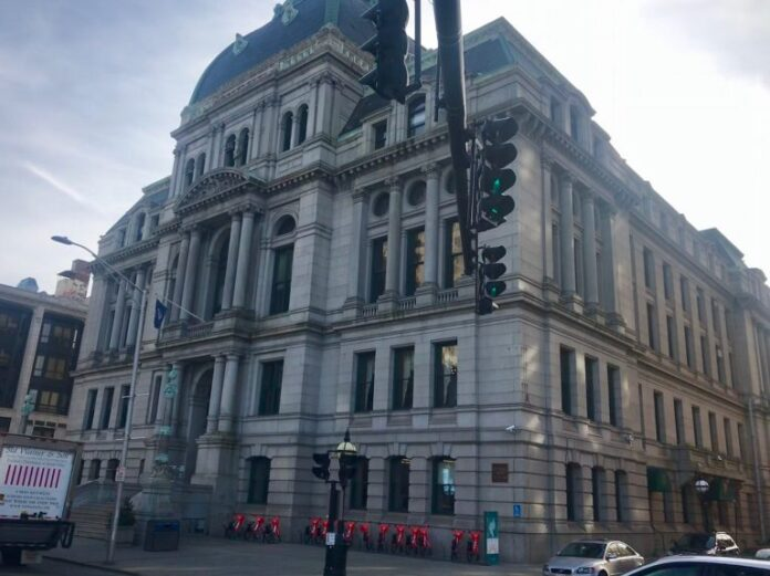 THE PROVIDENCE City Council is considering two ordinances that would strengthen regulation of developers and contractors. / PBN FILE PHOTO/CHRIS BERGENHEIM