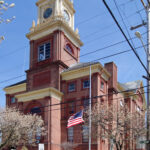 THE CUMBERLAND Town Hall Historic District has been added to the National Register of Historic Places. Above, the Cumberland Town Hall, erected in 1894. / COURTESY THE RHODE ISLAND HISTORICAL PRESERVATION & HERITAGE COMMISSION