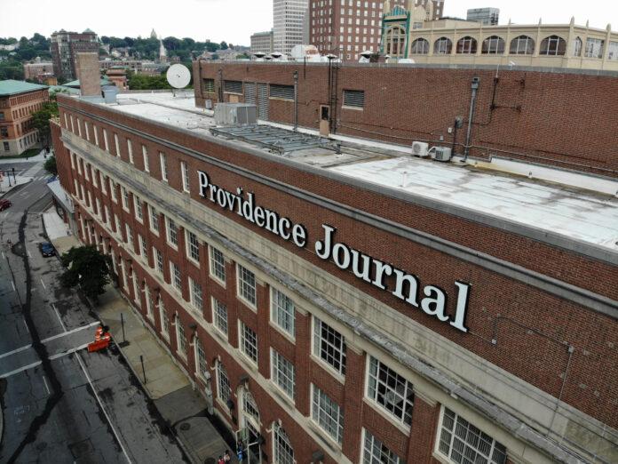 NEW MEDIA, owner of the Providence Journal, announced that investors of its company and Gannett Co. have both approved a merger deal in which New Media acquires Gannett. PBN PHOTO/ARTISTIC IMAGES