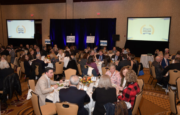 BUSINESS LEADERS from the region gathered Thursday evening to honor PBN 2019 Business Excellence Awards honorees. / PBN PHOTO/MIKE SKORSKI