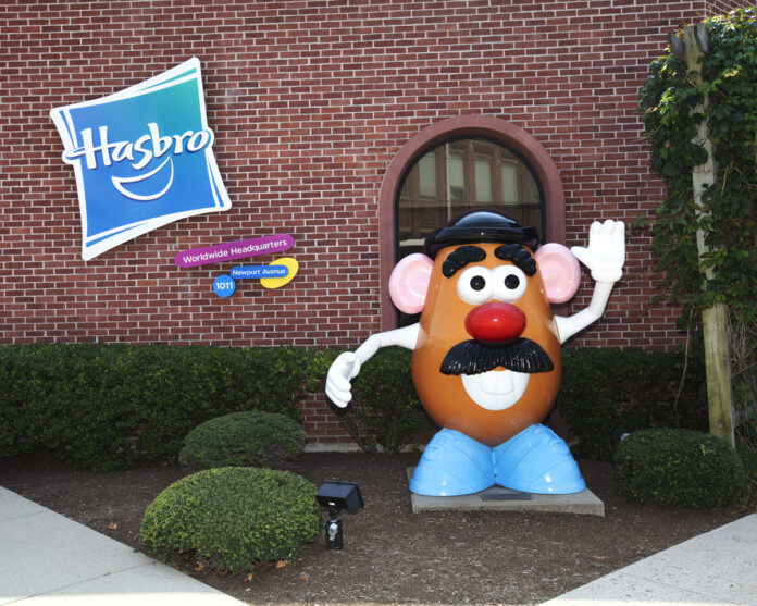 HASBRO reported that a net of $9756.1 million in a public offering of common stock closed Friday. / COURTESY HASBRO INC.