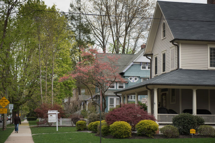 THE MEDIAN PRICE of a single family home in Rhode Island was $290,000 in November 2019. / BLOOMBERG NEWS FILE PHOTO/RON ANTONELLI