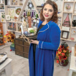 UNCOMMON INVENTORY: Stefania Medeiros opened her gift shop, Ethereal Oddities, in June, selling items such as flower-infused soaps and resin-and-wire jewelry she created herself. / PBN PHOTO/MICHAEL SALERNO