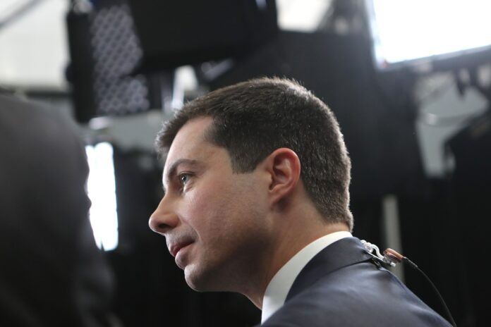 MAYOR PETE BUTTIGIEG leads 2020 presidential hopefuls in fundraising in Rhode Island. / BLOOMBERG NEWS FILE PHOTO/MARIO TAMA