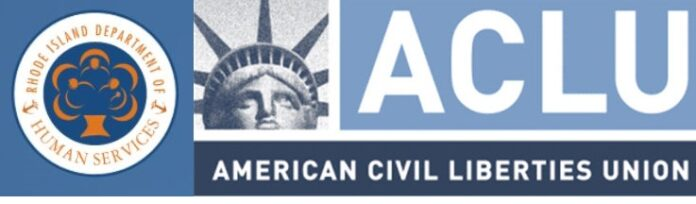 THE RHODE ISLAND chapter of the American Civil Liberties Union filed a complaint Wednesday on behalf of a former R.I. Department of Human Services employee who alleges she was unlawfully terminated from her job over a non-arrest conviction.