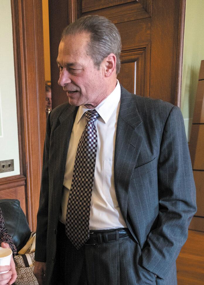 Senate President Dominick J. Ruggerio