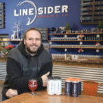 DRAFT PICK: Jeremy Ruff, co-owner and head brewer at LineSider Brewing Co. in East Greenwich, says the Rhode Island Brew Fest, which LineSider participated in last year and will be again this month, exposes the brewery to new customers. / PBN PHOTO/MIKE SKORSKI