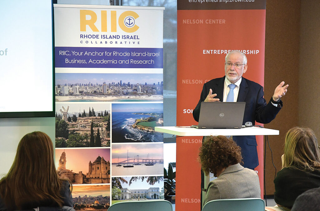 SPREAD THE WORD: Avi Nevel, CEO and president of the Rhode Island-Israel Collaborative, thinks many Rhode Island businesses are unaware of the opportunities presented by foreign trade zones. / PBN FILE PHOTO/MIKE SKORSKI