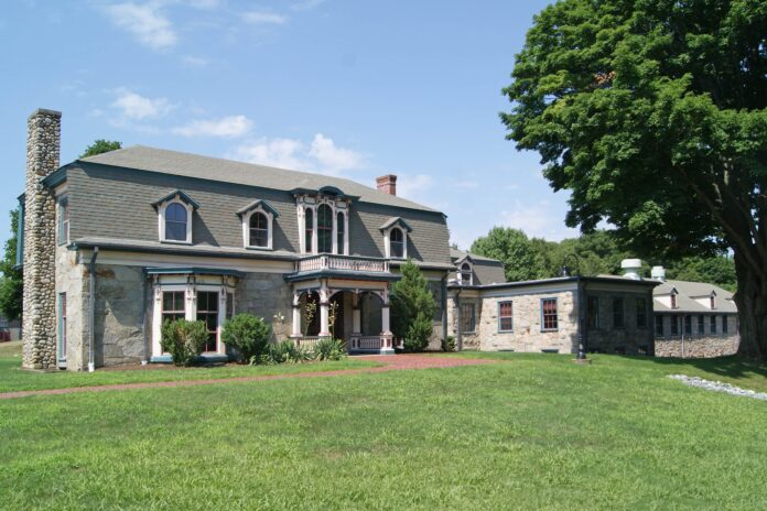 THE GEORGE W. Chapin House-Superintendent's House, built circa 1870, is one of the eight buildings that qualified portions of the RIC campus to be named to the National Register of Historic Places. / COURTESY R.I. HISTORICAL PRESERVATION & HERITAGE COMMISSION