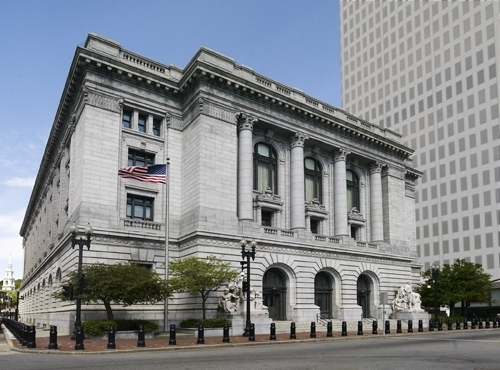 OLEG NIKOLYSZYN, a former Providence attorney, pleaded guilty to two counts of mail fraud and one count of theft from an employee benefit pension fund in U.S. District Court Monday. / COURTESY CAROL M. HIGHSMITH